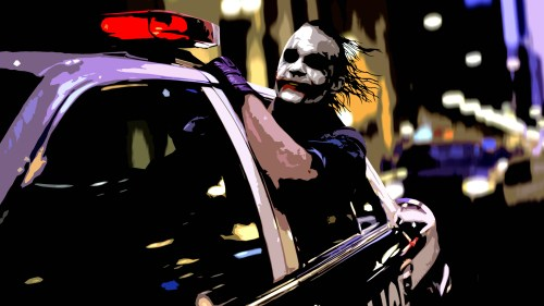 the joker – backseat driver