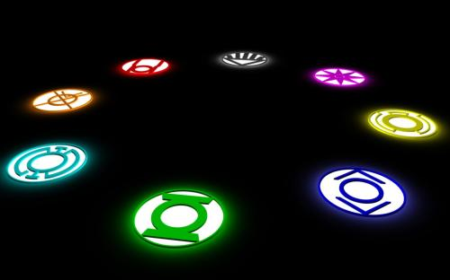the lantern logos in black