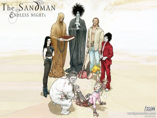 the sandman – endless nights
