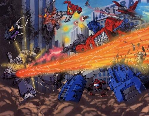 transformers – autobots vs decepticons