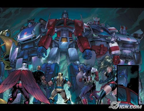 transformers – marvel comics wallpaper