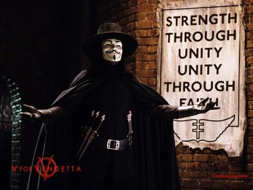 v for vendetta – strenth through unity