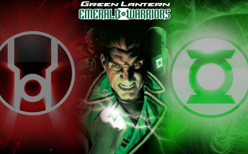 green lantern – emerald warriors