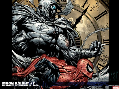 moon knight and spider-man