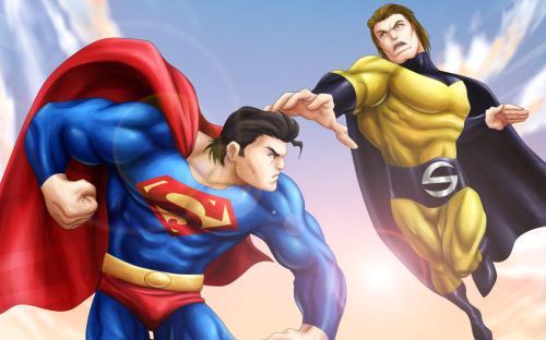superman vs sentinel