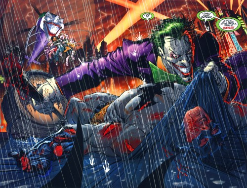 the joker kills batman