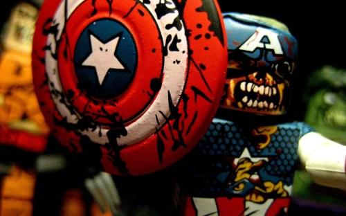 zombie captain america toy