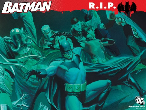 batman – RIP Villians