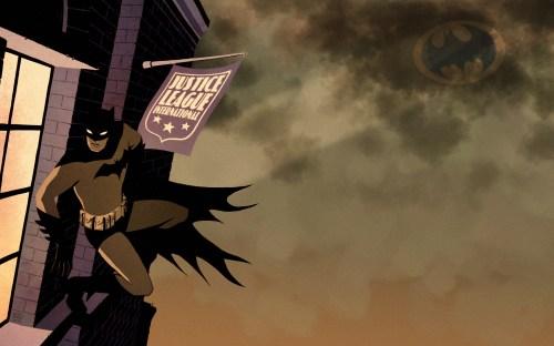 batman spies on the Justice league