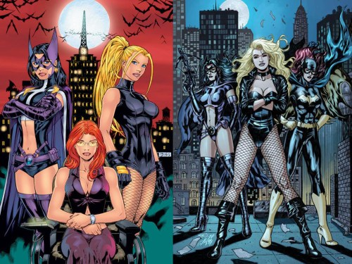 birds of prey – old vs new