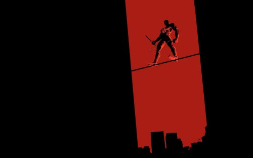 daredevil on a wire