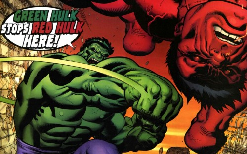 green hulk vs red hulk