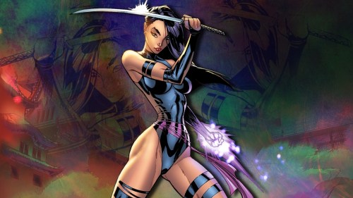 psylocke with two types of blades