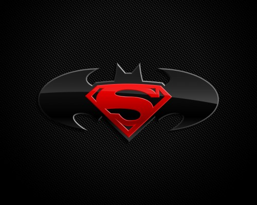superman and batman logo