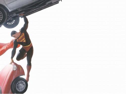 superman moving car