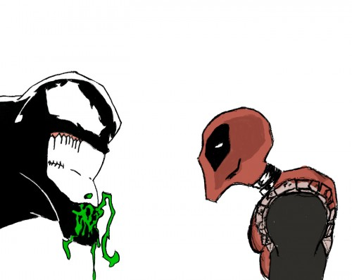 venom vs deadpool