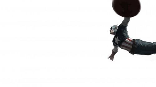 captain america leaps