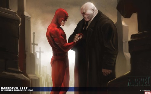 daredevil makes peace with kingpin