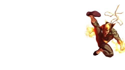 iron fist kicks