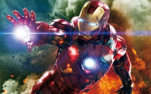 iron man looking beaten up