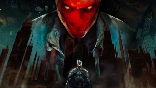 red hood, batman