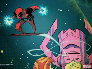 deadpool and galactus