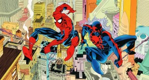 spider-man and spider-man 2099