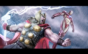 Thor and Iron Man