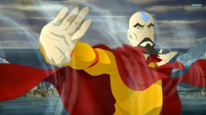 Tenzin makes with wind