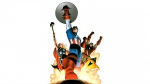 captain america, thor, iron man, vision, wasp and falcon