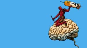 deadpool has deadpool on the brain