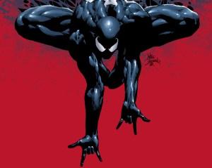 black spider-man loves you