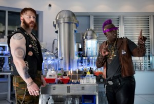 Bebob and Rock Steady in the laboratory
