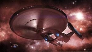 Federation Ship Looks Lopsided