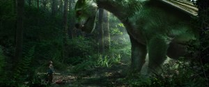 Pete's Dragon is green