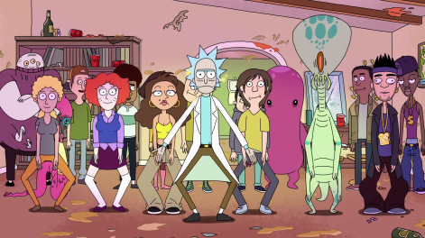Rick and Morty Dance