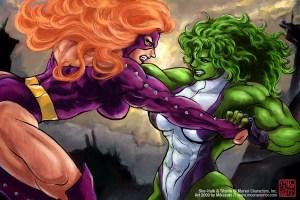 She Hulk Titania Rivals by mikazuki dono