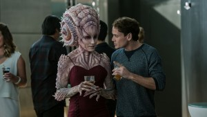 Star Trek Beyond Chekov and alien