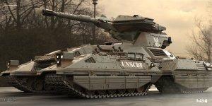UNSCDF Tank