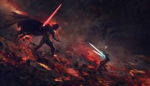 Vader vs Asoka