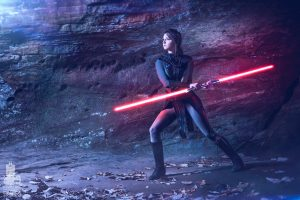 Danica Rockwood as Darkside Bastila Shan
