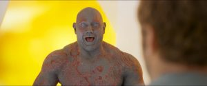 Drax is amused