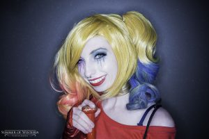 Happy Harley cosplay
