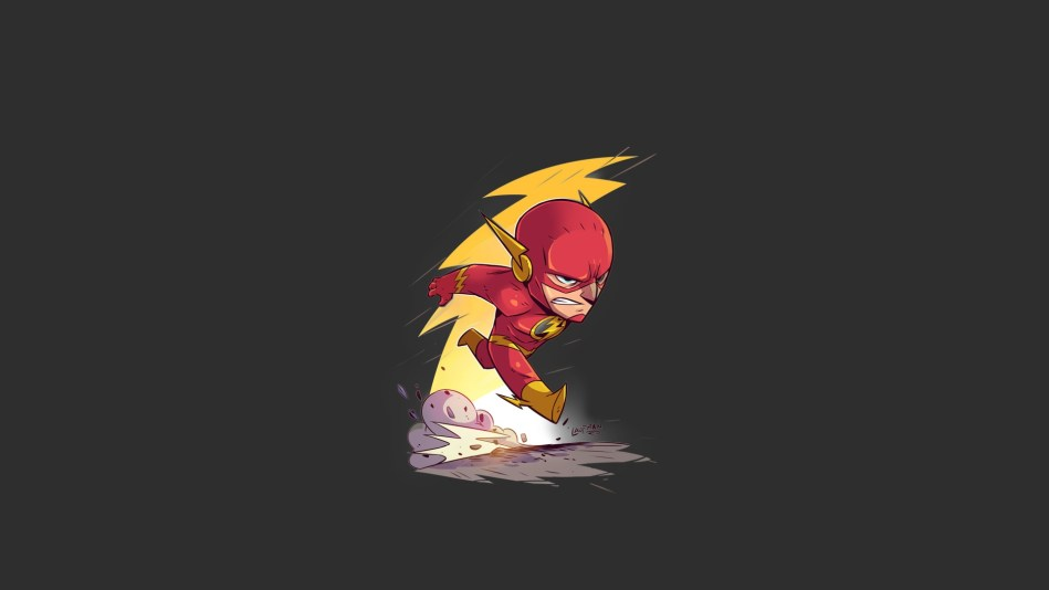 The Chibi Flash Zoom Comics Daily Comic Book Wallpapers