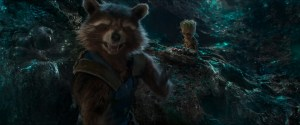 baby groot and rocket raccoon