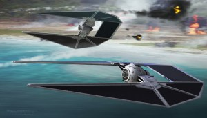 star wars tie intercepters