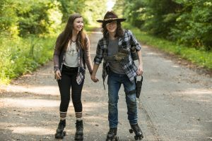 Happy People that are The Walking Dead