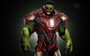 Iron Hulk Man