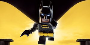 Lego Batman in motion