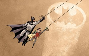 Batman and Robin by Dean Trippe